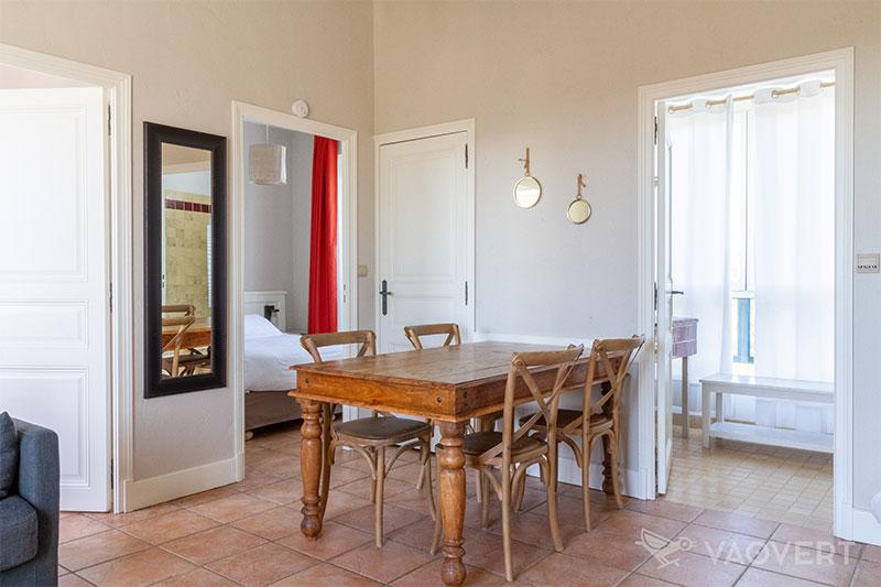 Appartement T3 vue jardin - Éco-Domaine La Fontaine