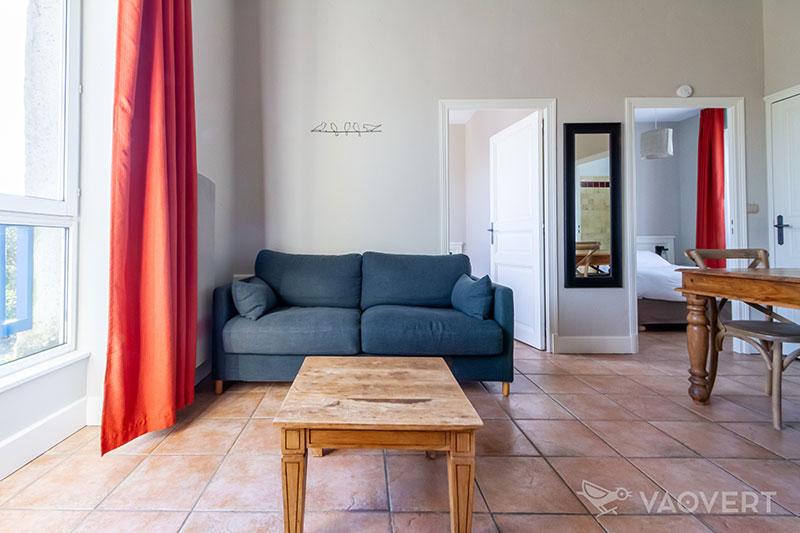 Appartement T3 vue mer - Éco-Domaine La Fontaine