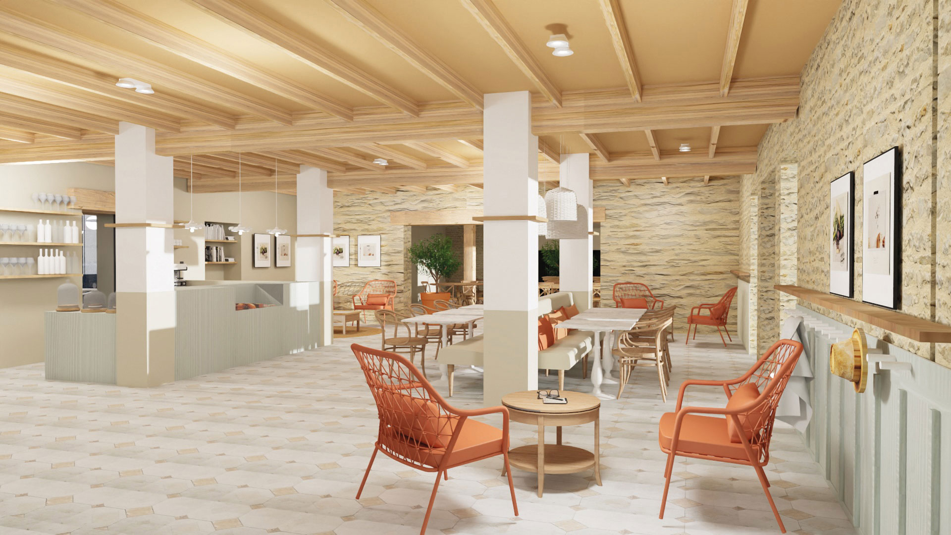 Bar et Salon de thé de La Fontaine